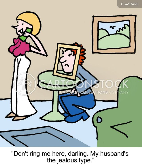 Cheating Wife Cartoon