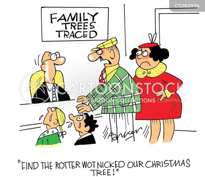 Tracing Family Tree Cartoons And Comics Funny Pictures