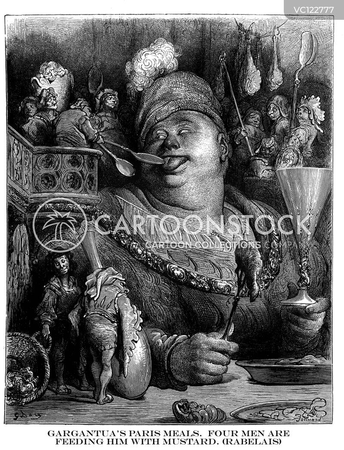 Feast Vintage And Historic Cartoons