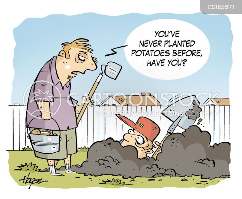 Digging Cartoons And Comics Funny Pictures From Cartoonstock