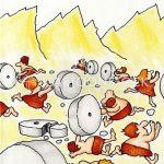 Cartoons Und Karikaturen Mit Chaos