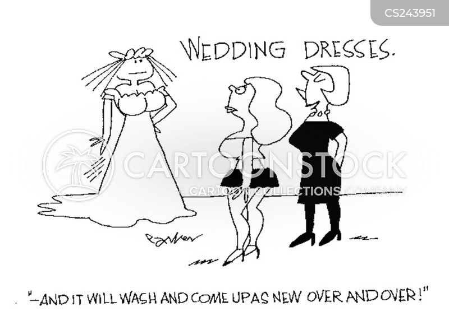 Wedding Gown Cartoons And Comics