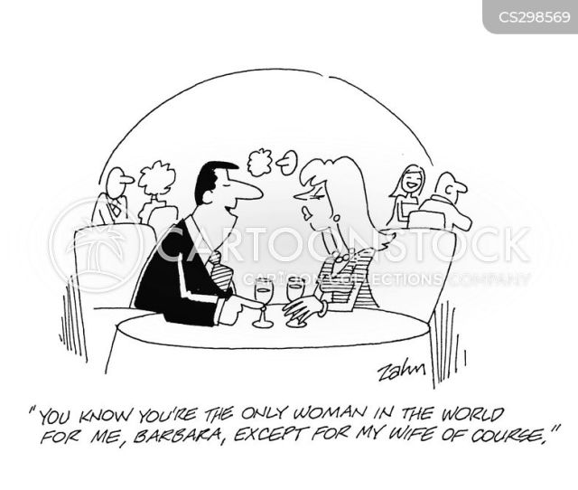 Cheating Husbands Cartoon