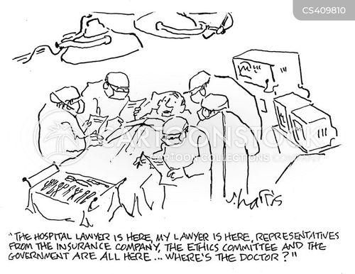 Cartoon – Where's the Doctor? | HENRY KOTULA