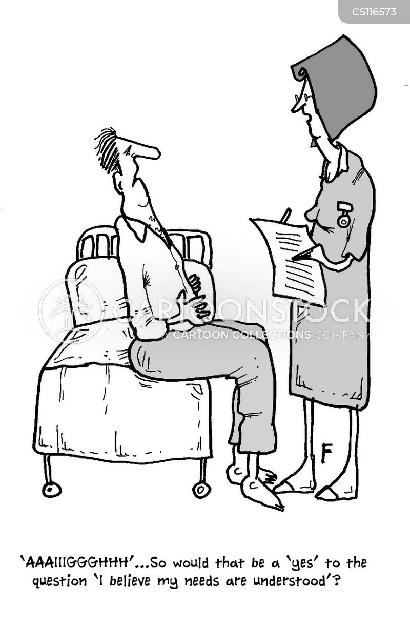 Patient Cartoons And Comics Funny Pictures From CartoonStock