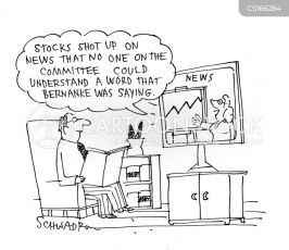 Economic Jargon Cartoons and Comics - funny pictures from CartoonStock