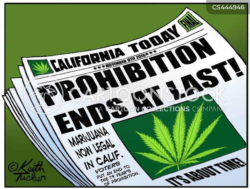 Prohibition News and Political Cartoons