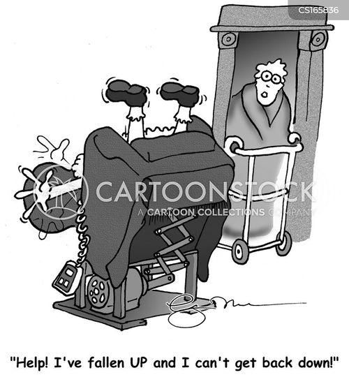Weihnachtsmann Karikaturen Und Cartoons