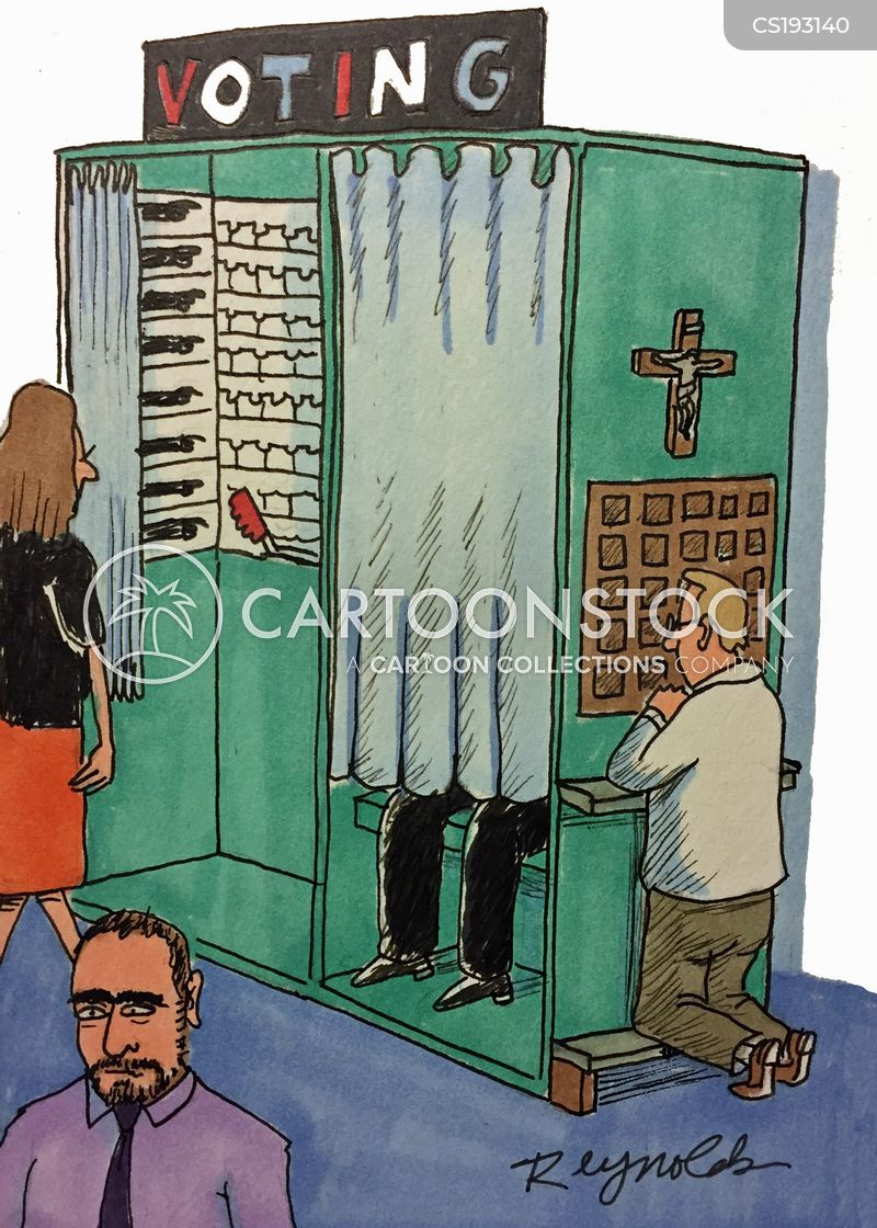 Voting Booth Cartoons And Comics Funny Pictures From