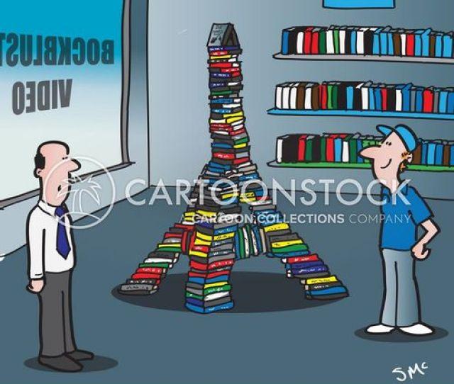 Dvd Store Cartoon