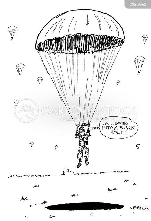 Cartoon Sky Out Falling