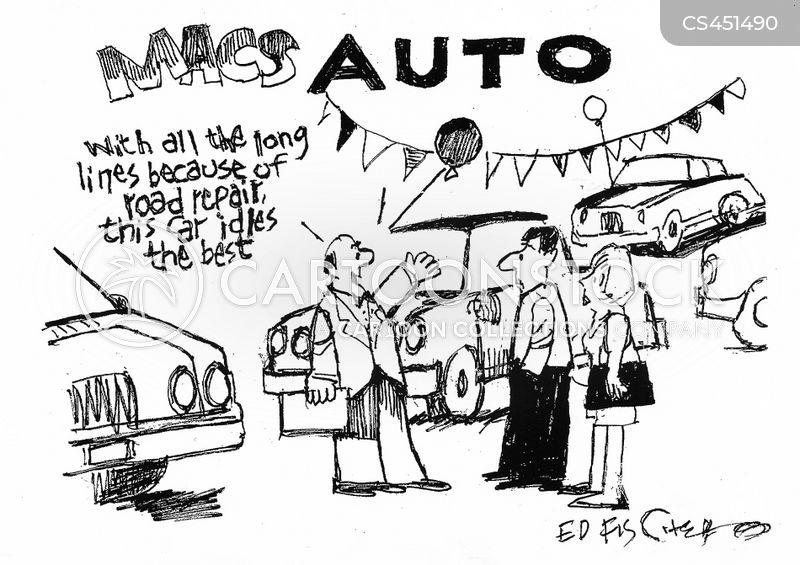 Car Buyers Cartoons And Comics Funny Pictures From