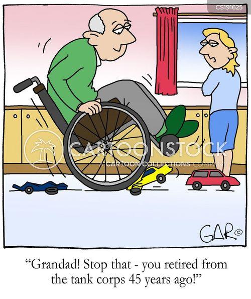 Karikaturist Phil Hubbe Zeichnet Cartoons Uber Behinderte
