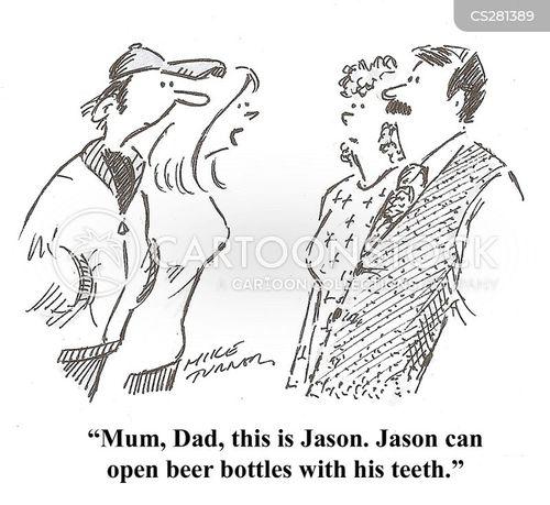 Image result for beer bottle opening tricks