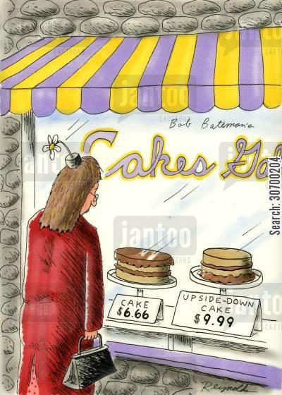 Cake Shop Cartoons Humor From Jantoo Cartoons
