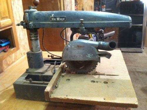 ... Radial Arm Saw - by Deedle @ LumberJocks.com ~ woodworking community