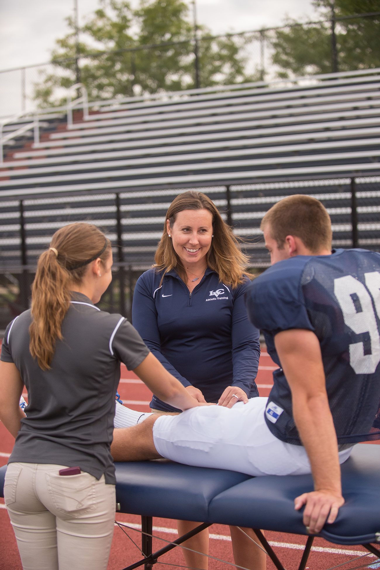 Examining An Athletic Trainer S Role In Patient Care