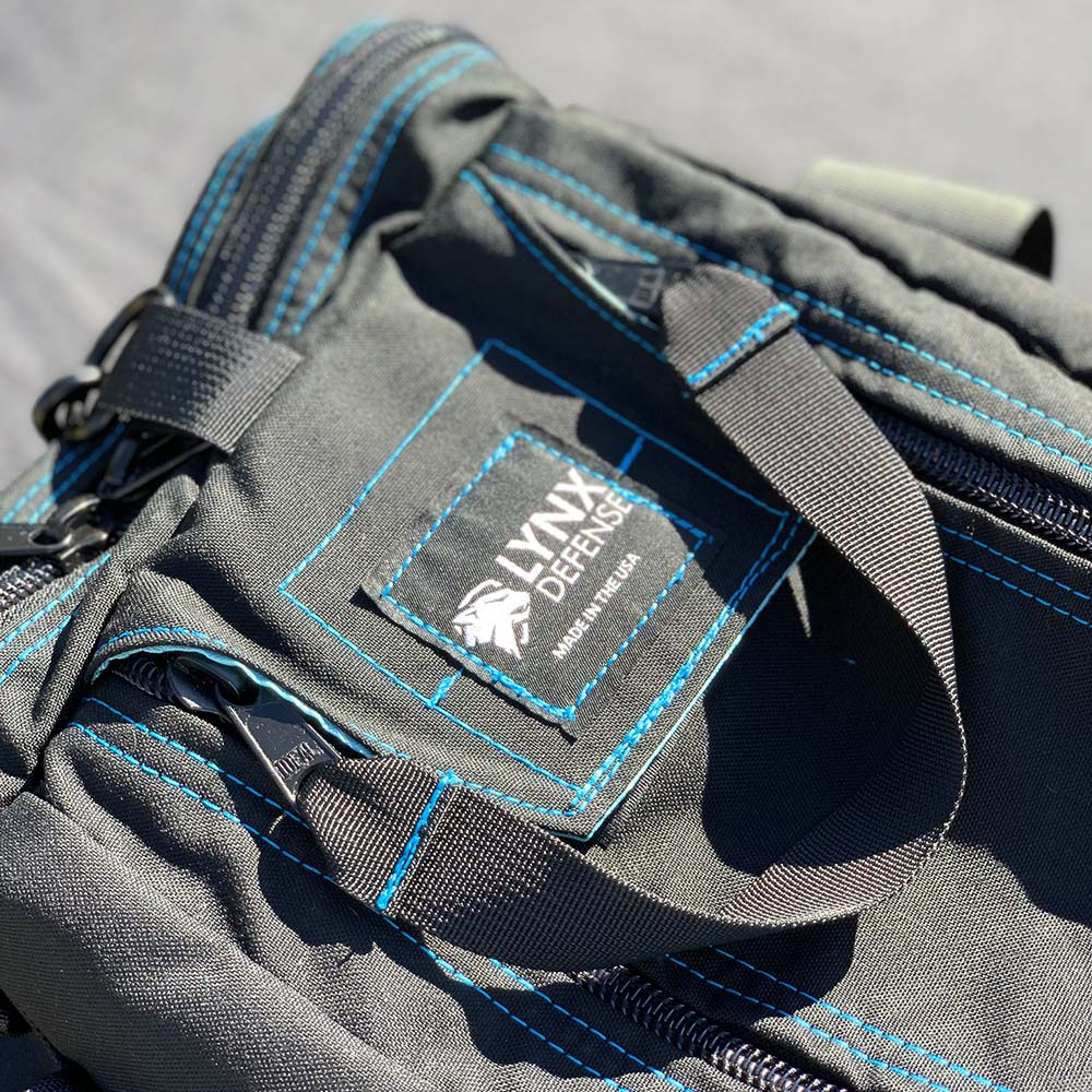 Custom Range Bag with Blue Thread