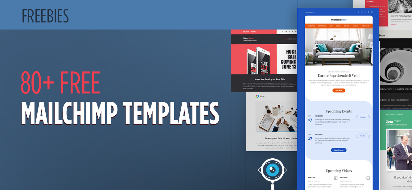 80 Free Mailchimp Templates To Kick Start Your Email