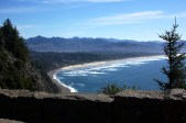 Driving highway 101 down the Oregon coast