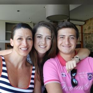 Lo mejor de mi vida, Andrea y Lalo,  que me motivan a seguir soñando