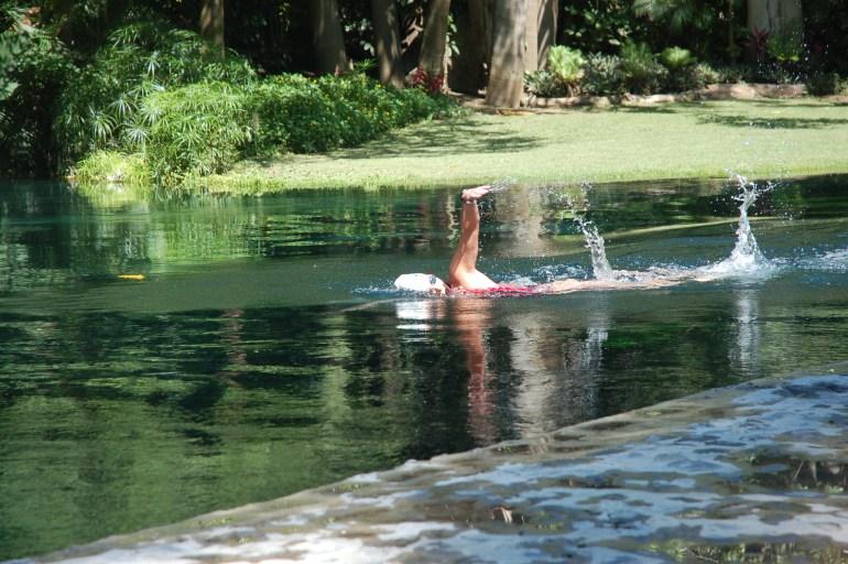 Nadar en Las EStacas es un sueño!