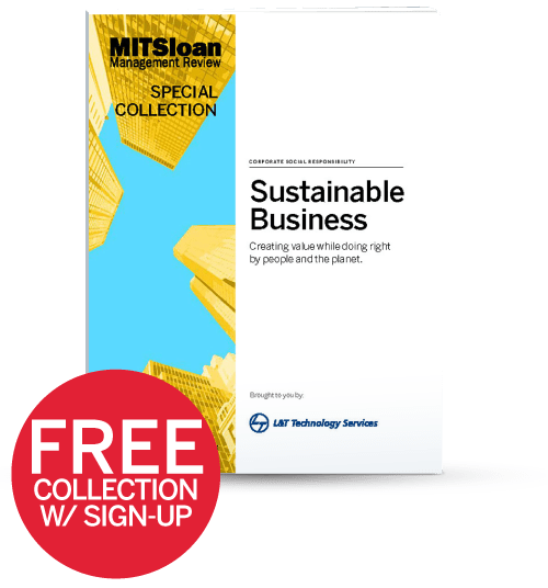 MIT Sloan Management Review on Sustainability