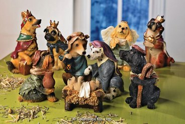 Dog Nativity