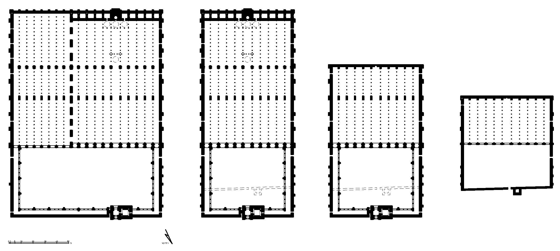Great Mosque Damascus Plan