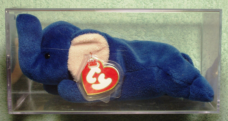 4d024372803 Royal Blue Peanut the Elephant has been credited as the Beanie Baby that  began the collecting frenzy. Peanut was first released in June of 1995