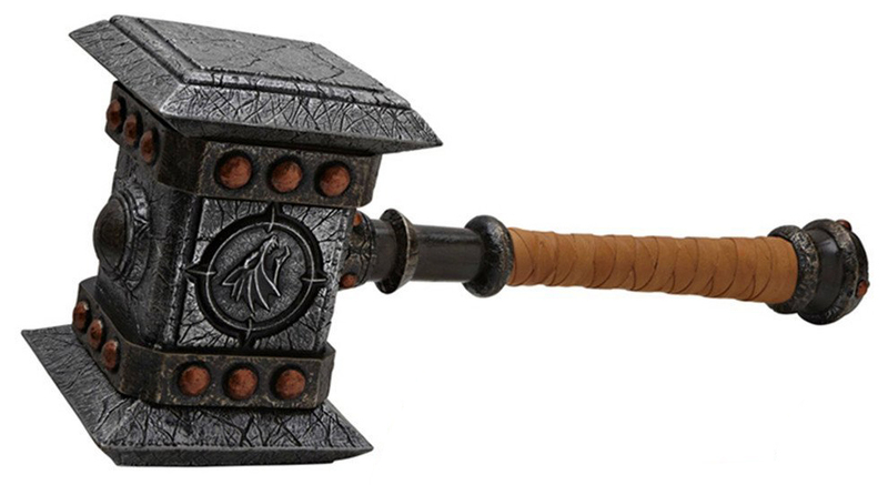 world of warcraft doomhammer replica epic weapons