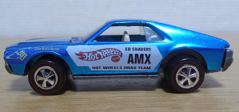 Hot Wheels 1970 Ed Shaver Custom AMX
