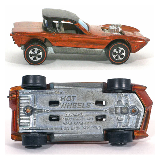 The 10 most expensive hot wheels completeset the 1968 cheetah base python hot wheel gets its name from its metal made from a hong kong patent pending base the one issue which made it so rare altavistaventures Choice Image