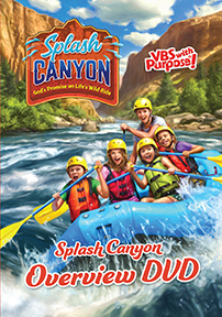 Splash Canyon Overview DVD VBS 2018