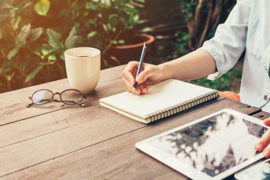 written pencils journal