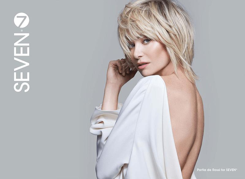 Portia De Rossi SEVEN Hair Care
