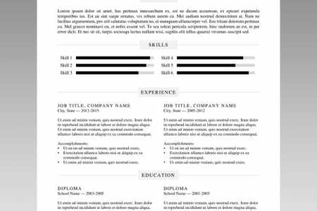 24 Free Resume Templates to Help You Land the Job free word resume template