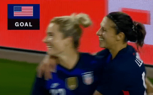 Watch (highlights): The six pack Rapinoe and Co. delivered to Argentina