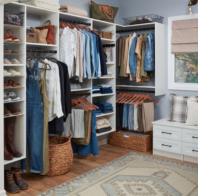 Custom Closet Organizers Closet Systems Organization Easyclosets