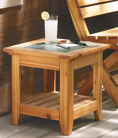 end tables plans woodsmith plans