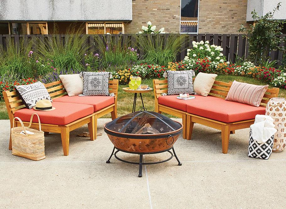 modular patio furniture woodworking