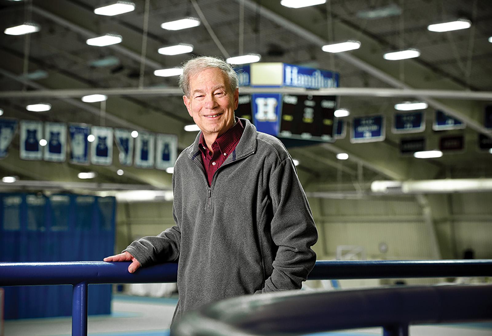 Golf Center Named For Inspirational Prof Amp Coach Bob Simon News Hamilton College