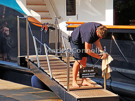 Mark OConnell Photography Removing The Gangway Rails