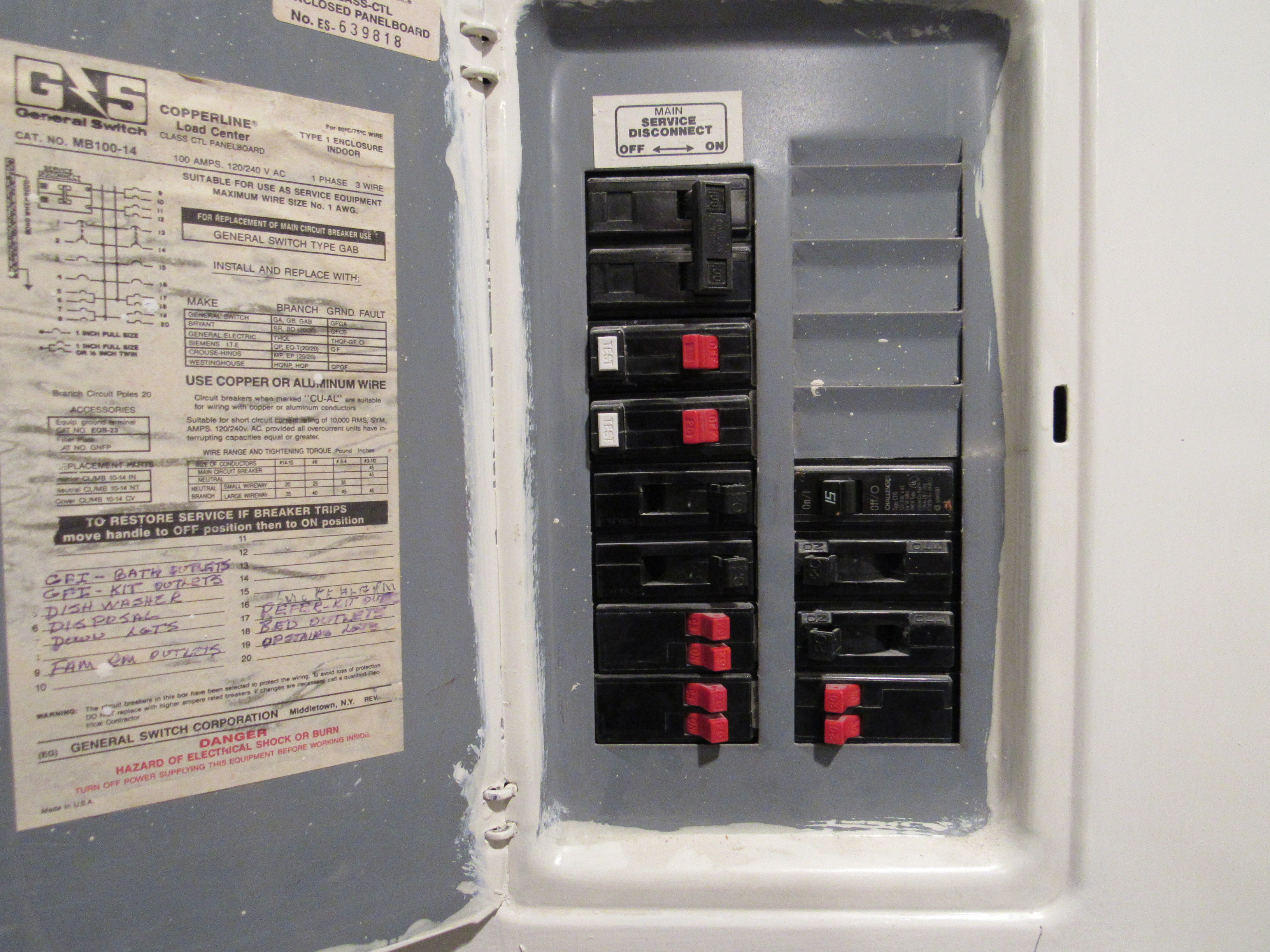 Challenger Electrical Panels And Breakers Home Fuse Box