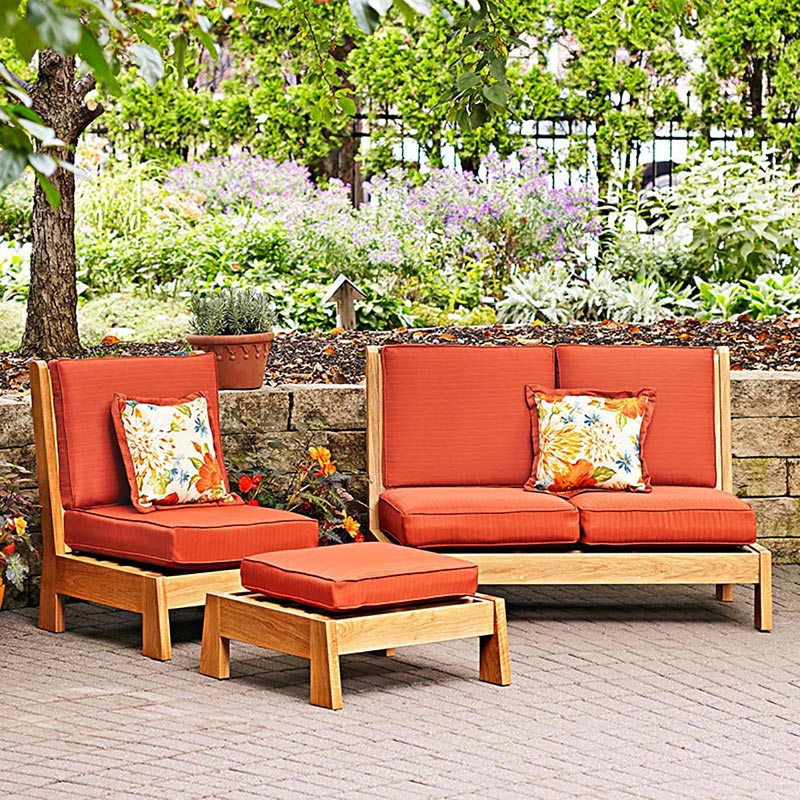 Easy Chairs Patio Set Woodworking Plan From WOOD Magazine
