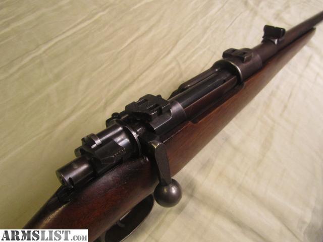 8mm Mauser K98 Parts List