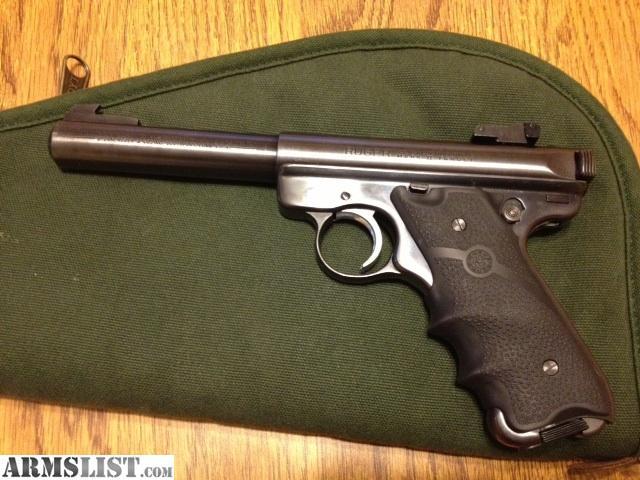 Ruger 22 Target Pistol Bull Barrel