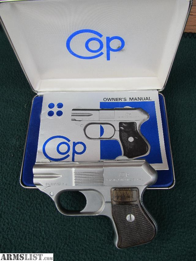 Cop 4 Pistol Barrel Inc