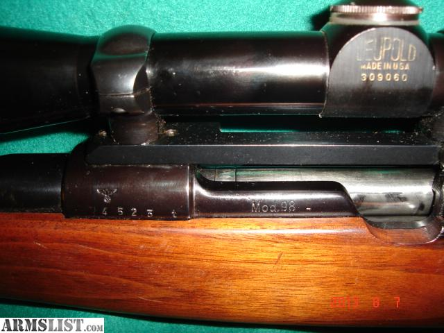 Rifle Custom Stocks Long Style Mannlicher 30 06