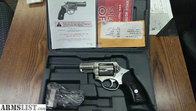 Hammerless Ruger Sp101 357